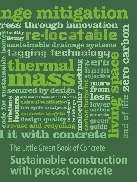 """Das """"Little Book of Concrete"""" wird derzeit überarbeitet und soll auch ins Deutsche übersetzt werden."""
