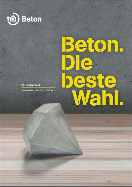 """Die Broschüre """"Beton. Die beste Wahl."""" gibt es auch online."""