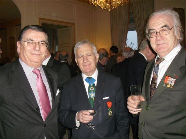 en présence également d ' Yves MORETTINI, Administrateur à la FACS et fondateur de l' ACANAMAF en 1969