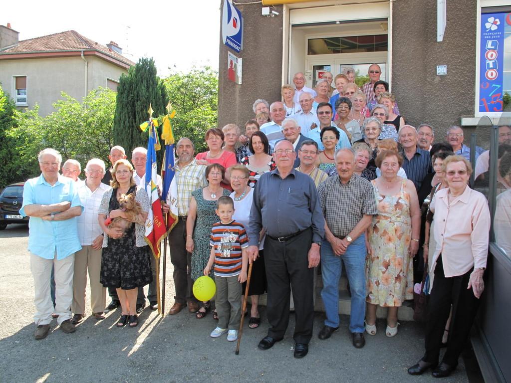 La photo souvenir - Journée Verte 5 juin - Brasserie Claudine - TIERCELET