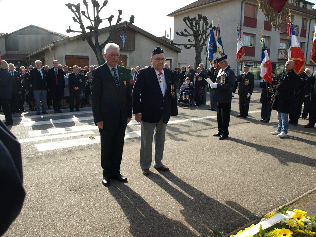 Pdt Général GELLIBERT et    M. BURRIG