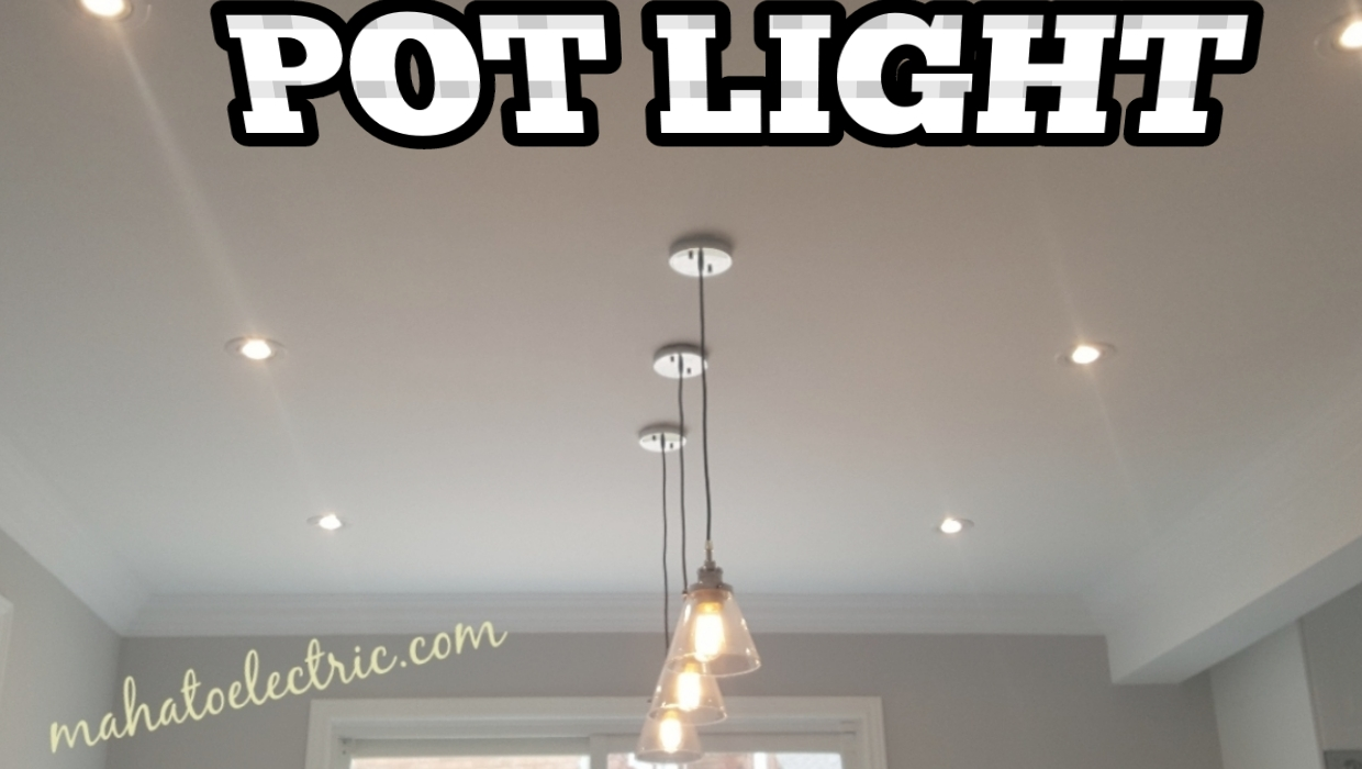 BRAMPTON POT LIGHT INSTALLATION, FROM $50, SLIM, LED, PANEL ...