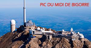 La webcam du Pic du Midi de Bigorre. Le ciel en temps réel.
