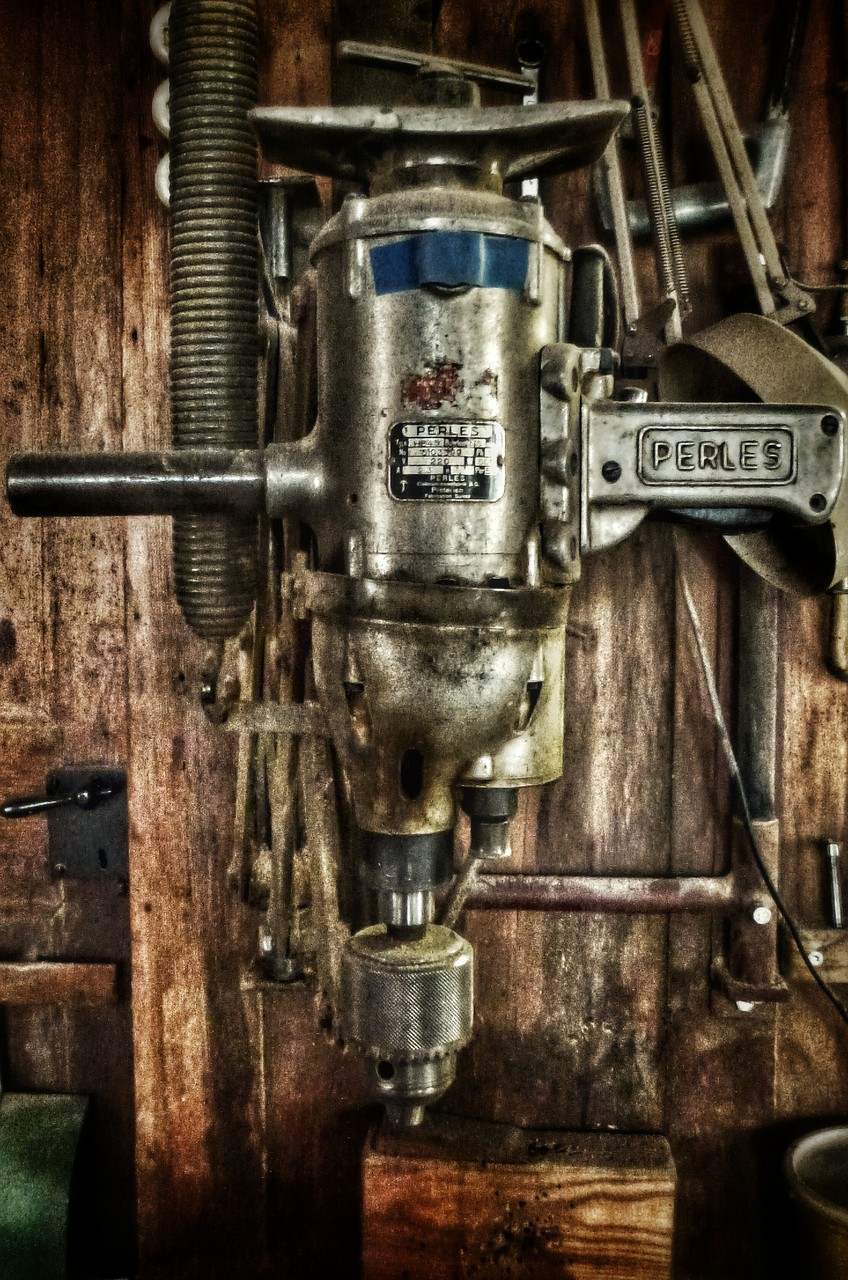 bohrmaschine - 45cm/30cm - 50 eur