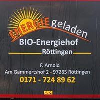 Frank Arnold - Landwirtschaft in Uissigheim und Impfingen, Bio-Energiehof Röttingen