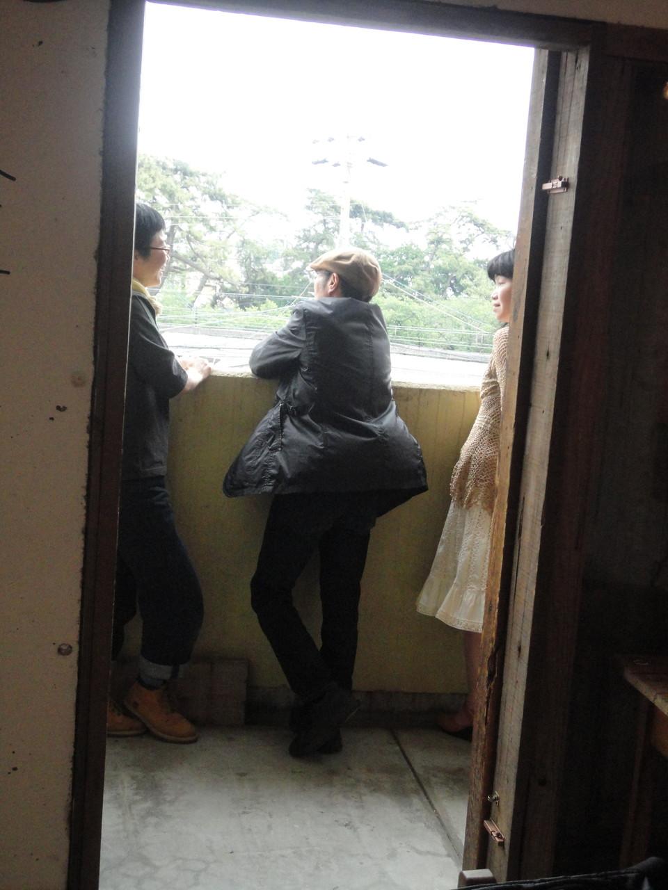 旧友三田夫人と新しい友人夏本さんと