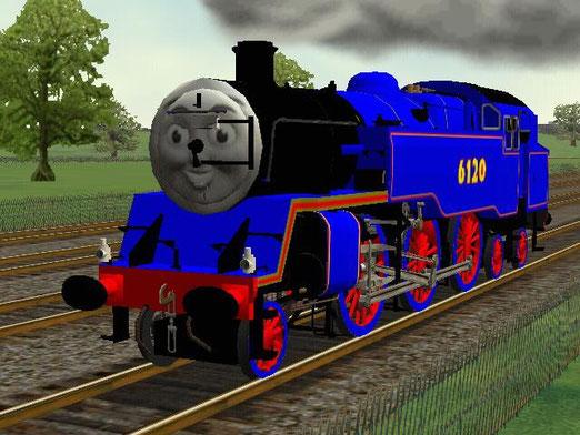 Thomas in Microsoft Train Simulator - thomasintrainzhistory
