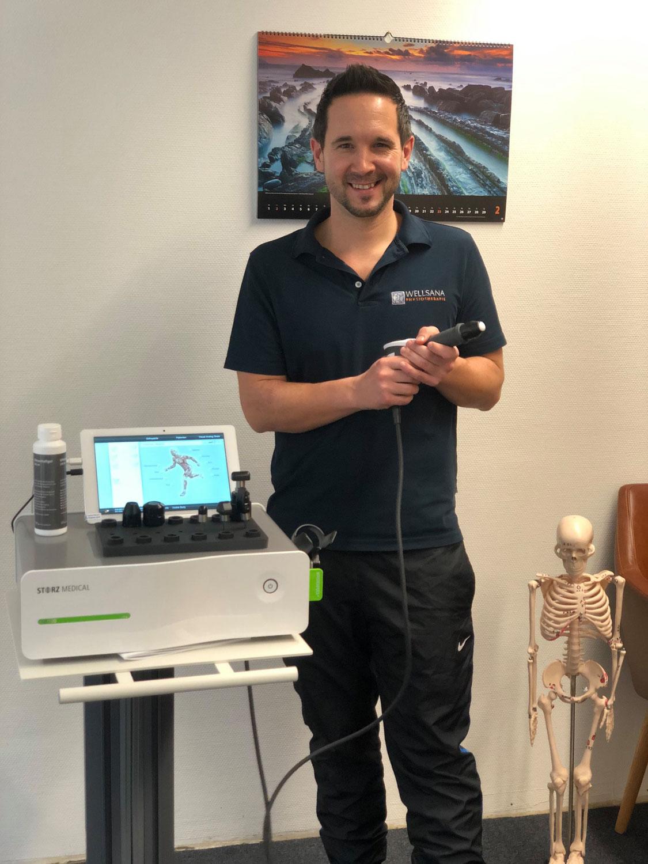 effektive  Stosswellentherapie Wellsana Basel Physiotherapie