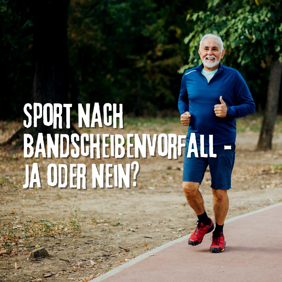 Sport nach Bandscheibenvorfall! Wann geht es wieder? Physiopraxis Wellsana Basel klärt auf!