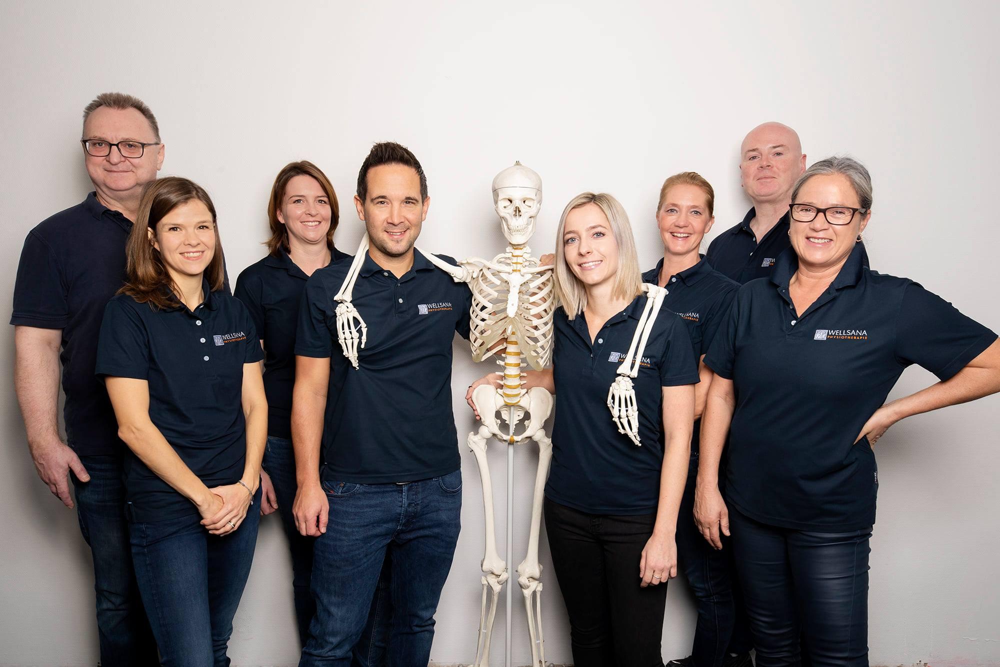 Team Wellsana Basel Physiotherapie