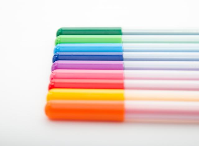写真 「カラーペン 9色セット」