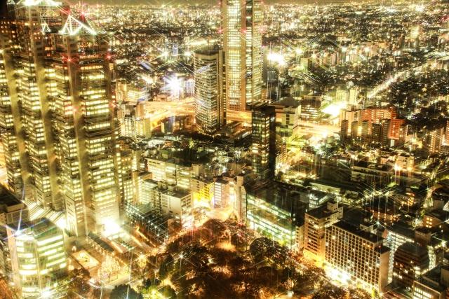 写真 「都市の夜景」