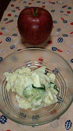 りんご サラダ