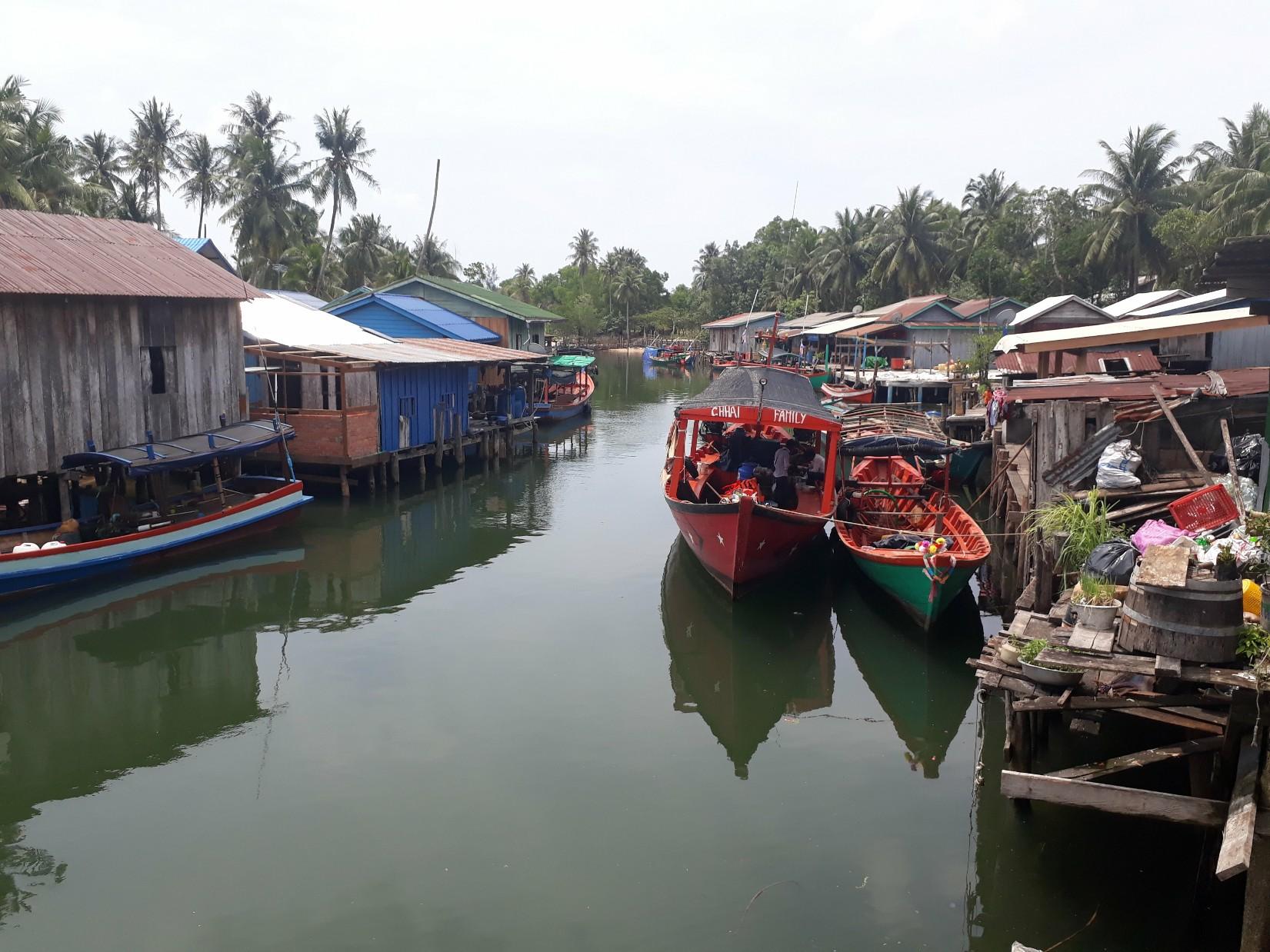Village de pêcheurs sur Koh Rong.