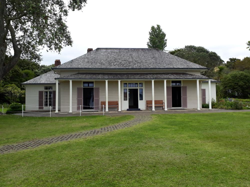 La maison du traité Waitangi