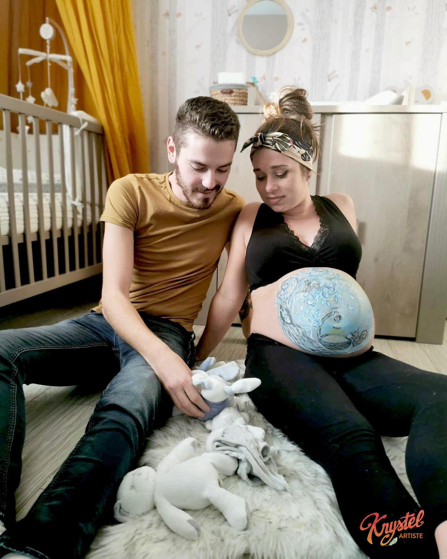 séance art prénatal, vendée