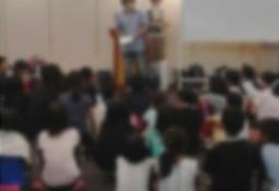 小学生向け講演会の様子