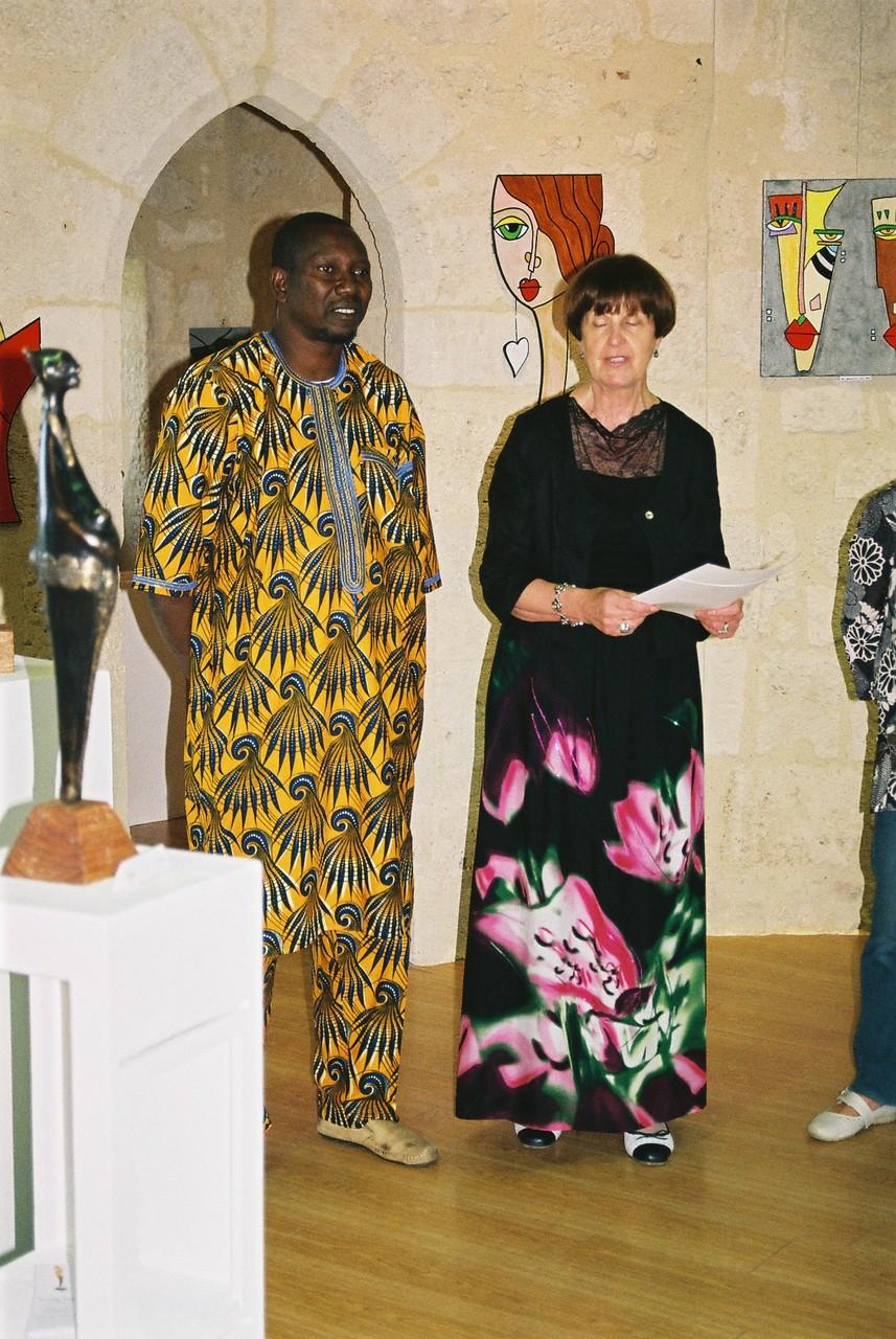 2014 - 33 Pujols sur Dordogne - Exposition organisée par l'Amicale laÎque