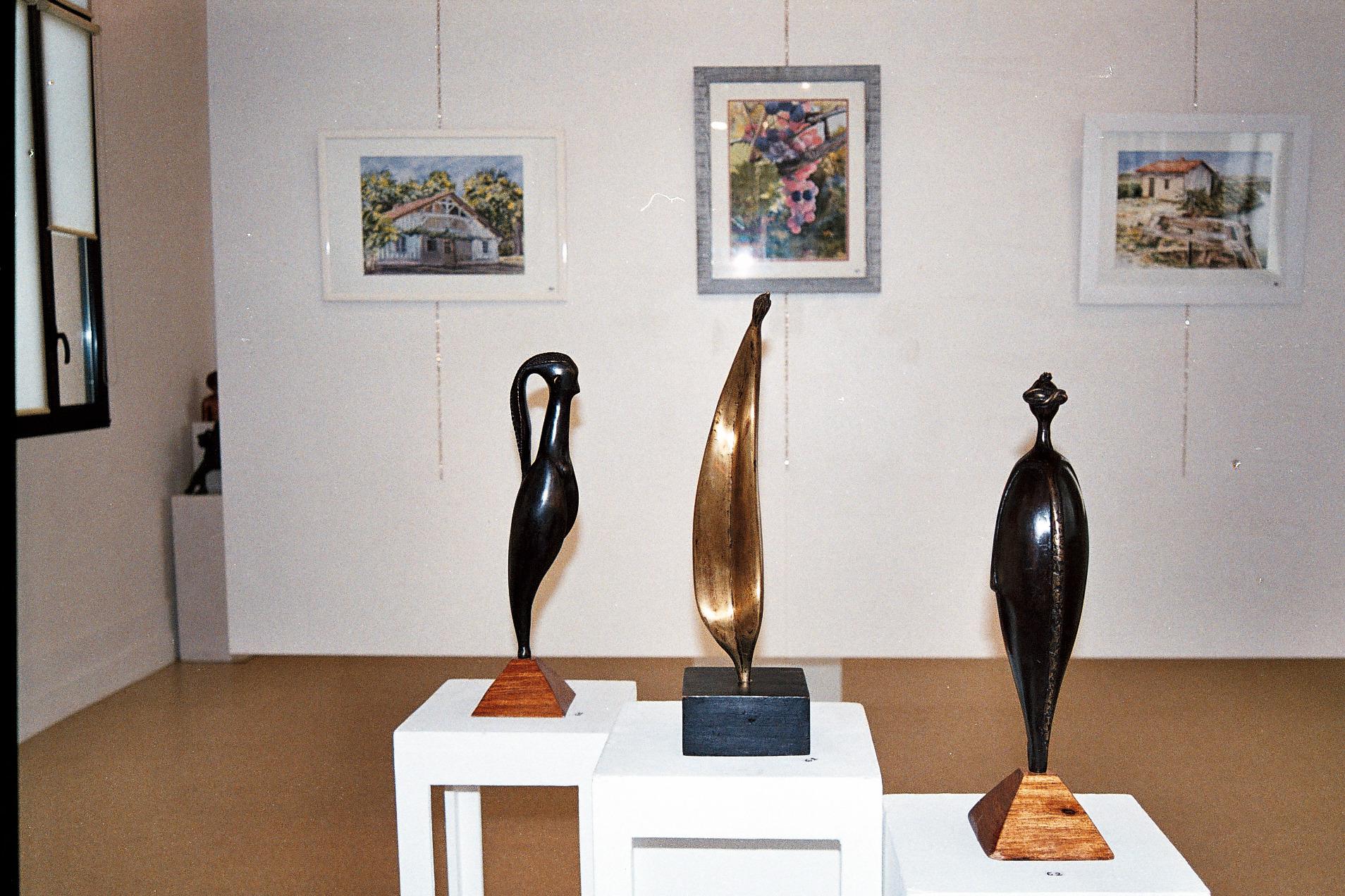2015 - 33 St Seurin/isle - SATA - Exposition Galerie F. Mitterrand