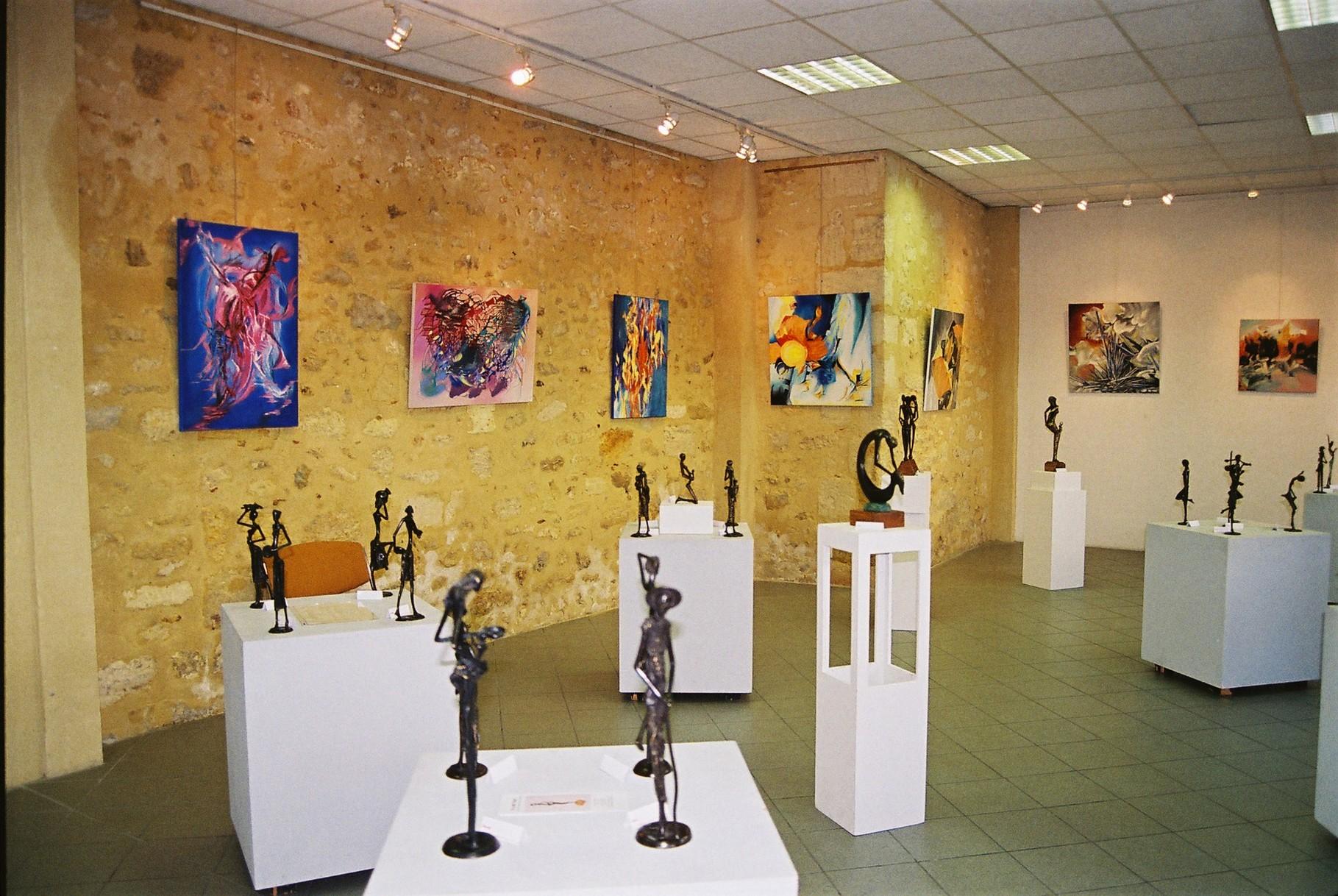 2013 - Commune de Castillon la Bataille - Exposition salle Castante -