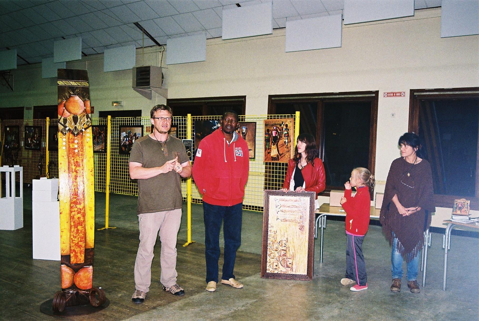 2014 - 24 Thiviers - Association Sigou - Festival à la rencontre de l'Afrique