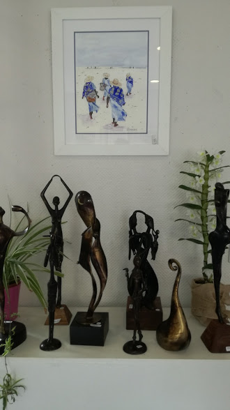 2017 - 33 Arcachon - Maison Quartier le Moulleau - avec Sophie Charles, artiste peintre
