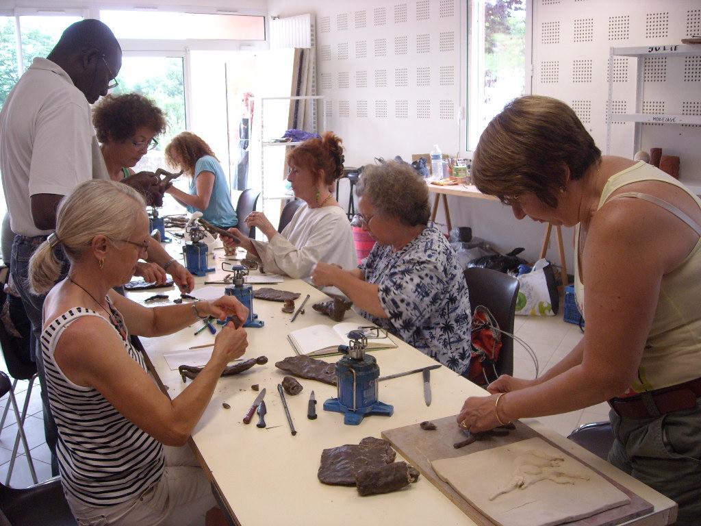 2015 - 32 St Martin - Campagn'Art - Atelier, technique du bronze à la cire perdue