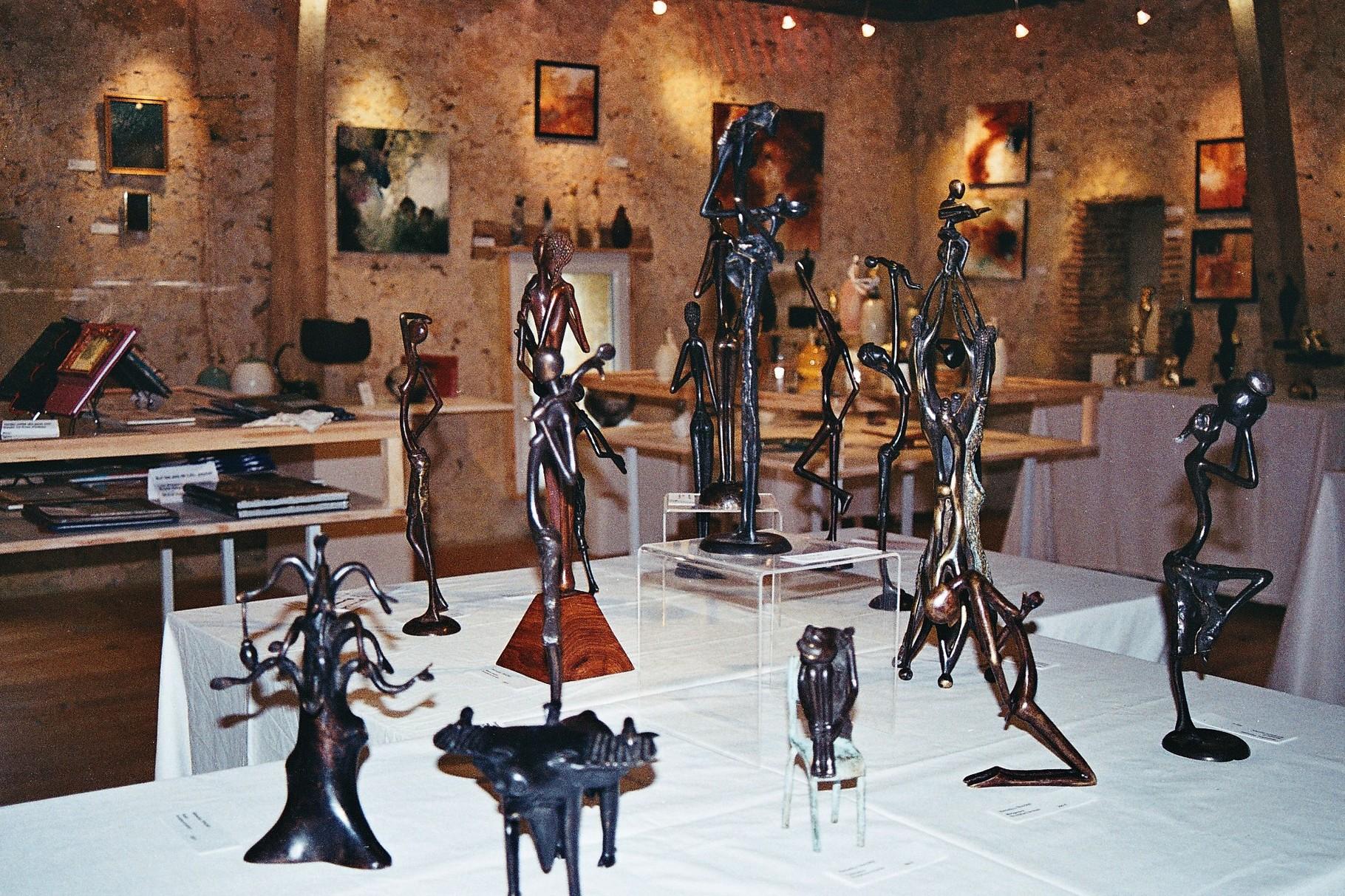 2014 - 24 Mauzac et Grd Castang - Salon des cadeaux au Centre d'Art Contemporain