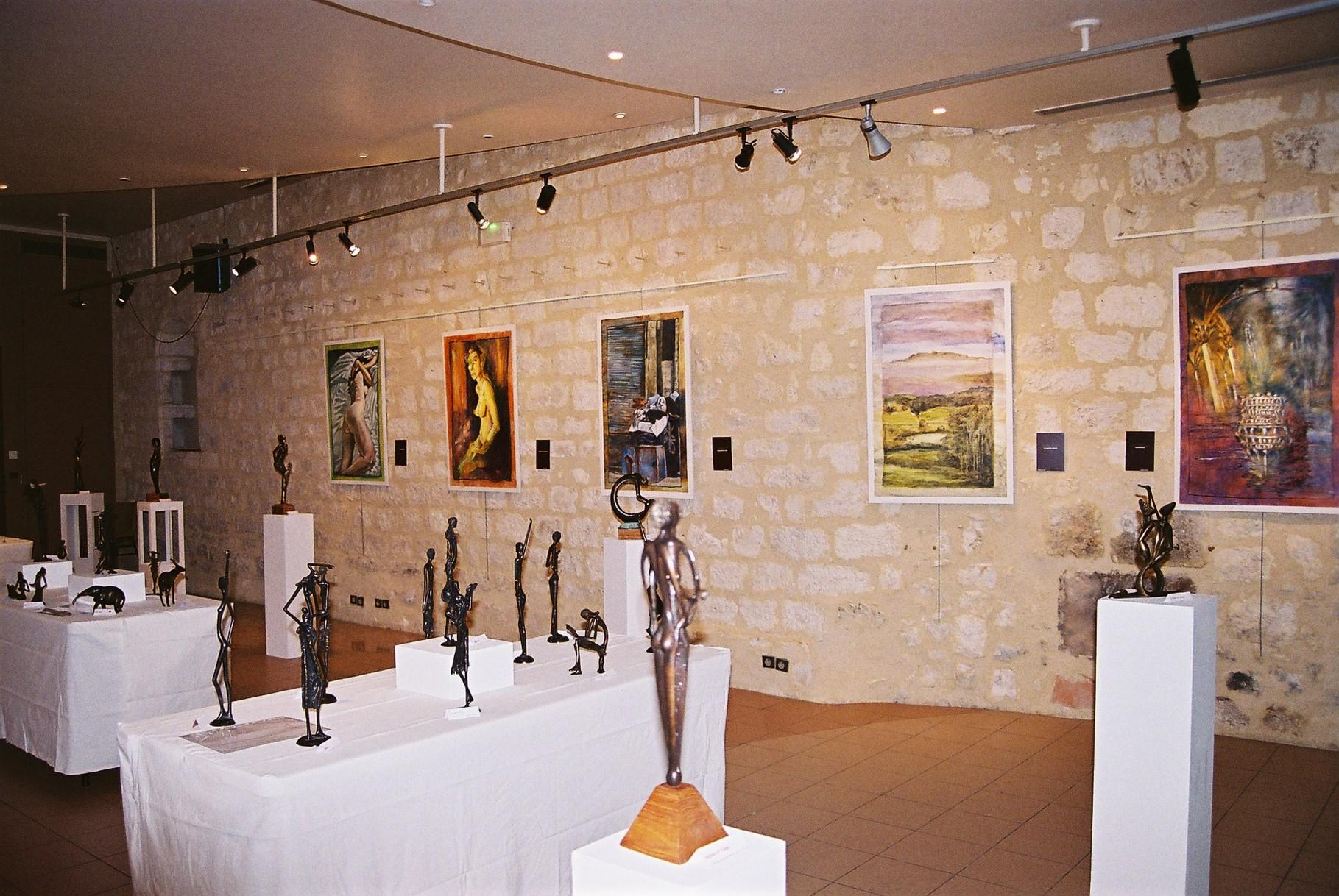 2013- 47 Monflanquin - GEM Arts plastiques - Exposition salle des Arcades -