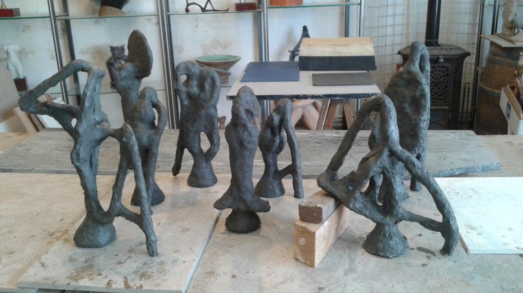 2017 - 33 St Laurent Médoc - Tasuma - Atelier, technique du bronze à la cire perdue