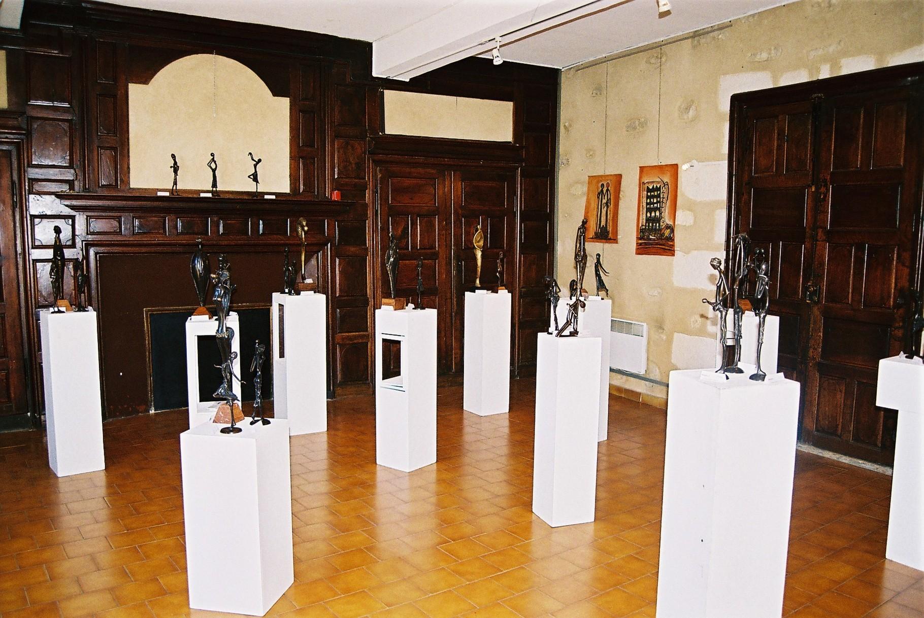 2014 - 24 Lalinde - Jardin de Marie - Salle de Montard - Exposition