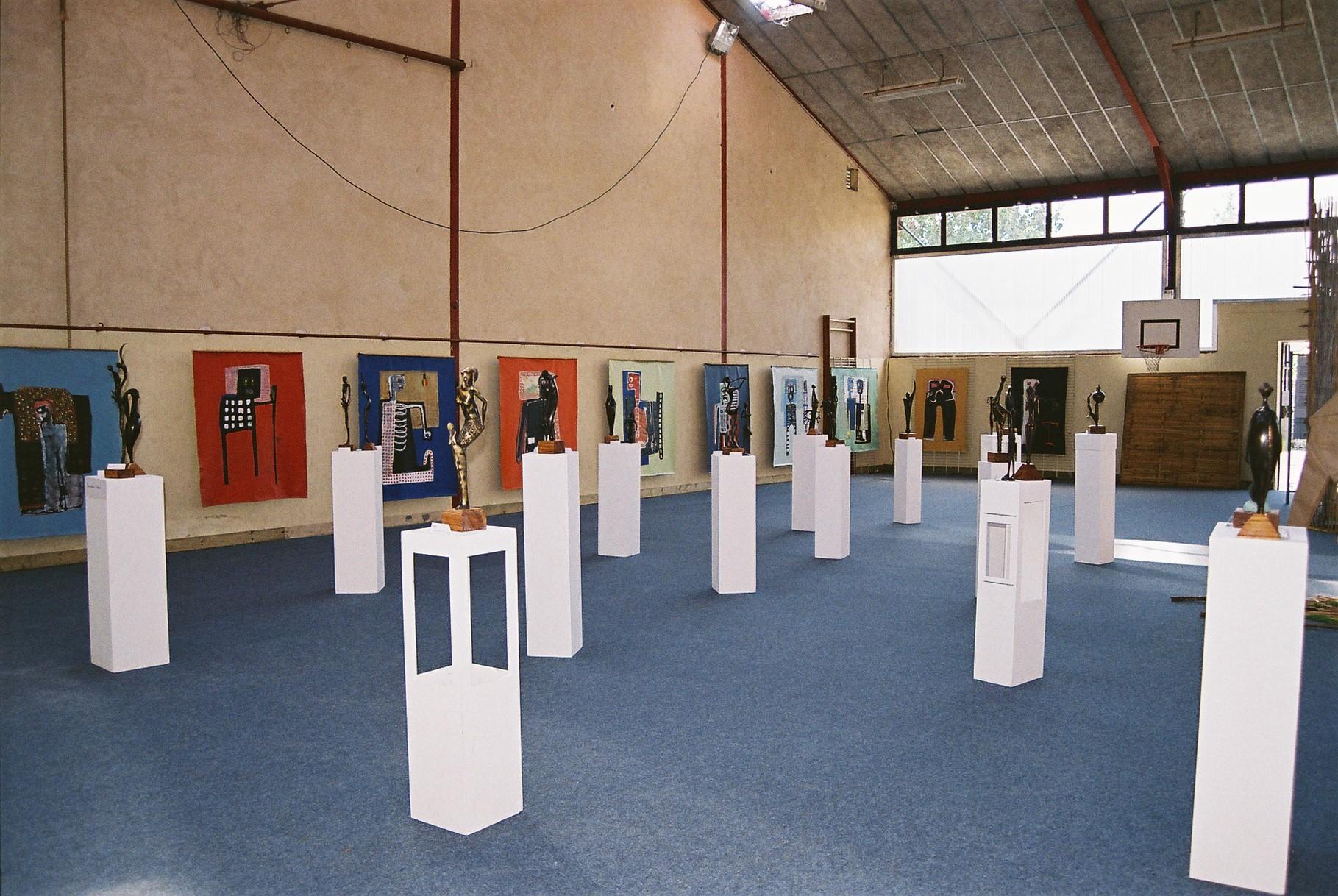 2013 - Africajarc - Exposition au gymnase -