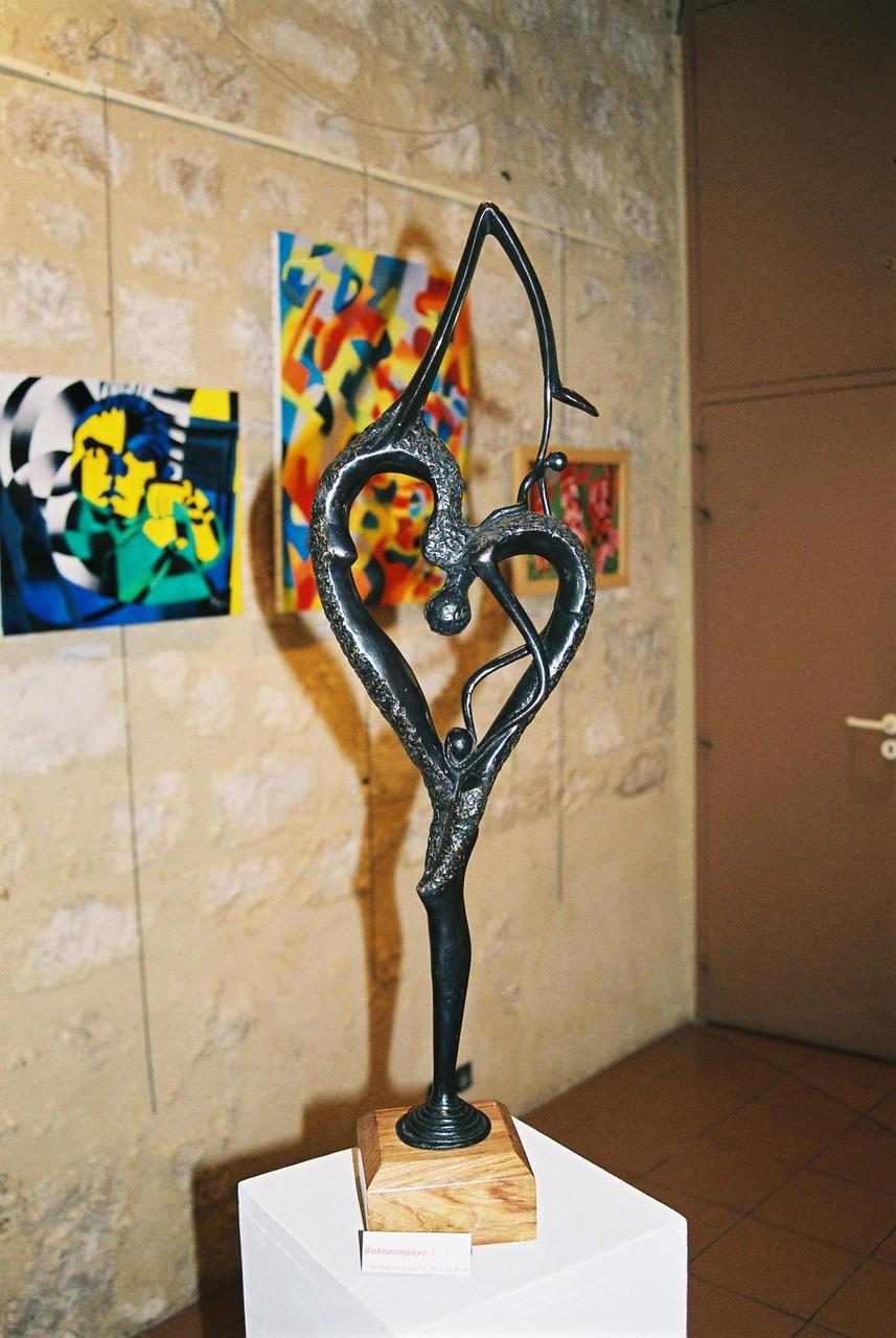 2014 - 47 Monflanquin - GEM - Exposition à la salle des Arcades