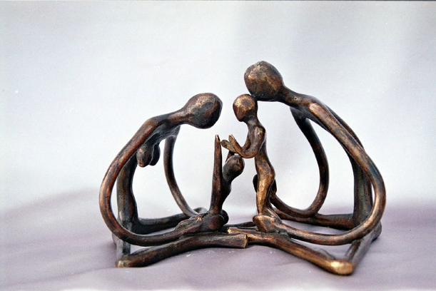 Dénouma et Kounandi - 12,5 cm x 19,5 cm - T.I - 2019