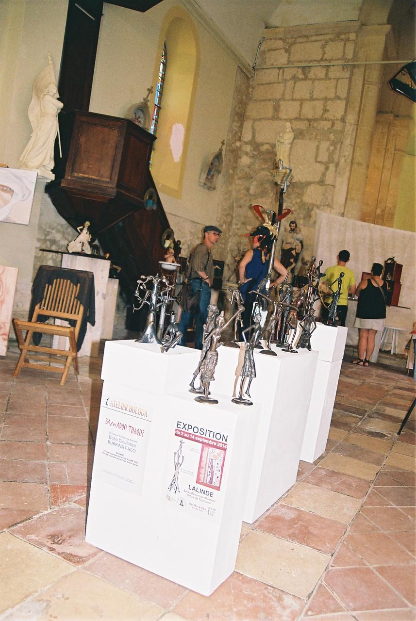 2014 - 24 Queyssac - Association l'Art au Bout des Doigts - Festival des Arts