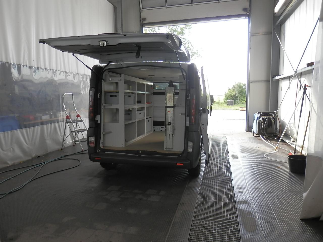 Optische Aufbereitung Waschhalle