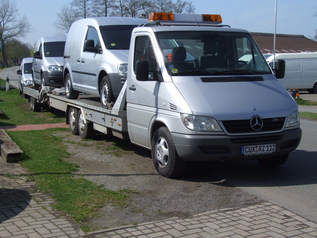 Fahrzeugtransporte, Pannenhilfsfahrzeug