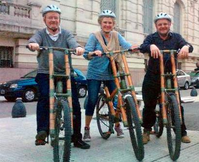 Bamboo Bike Tour in Barcelona