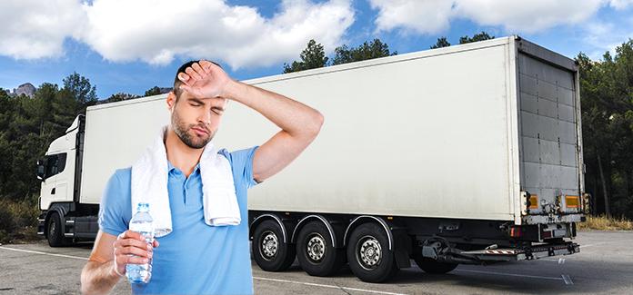 Efectos que produce el calor en el camión Transporte y Flete