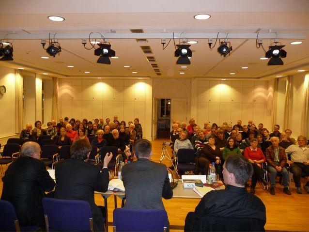 Lesung: Blick ins Publikum