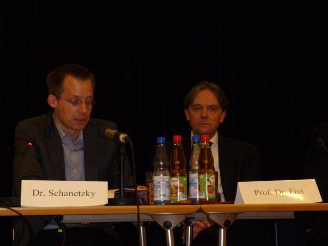 Dr. Tim Schanetzky und Prof. Dr. Norbert Frei