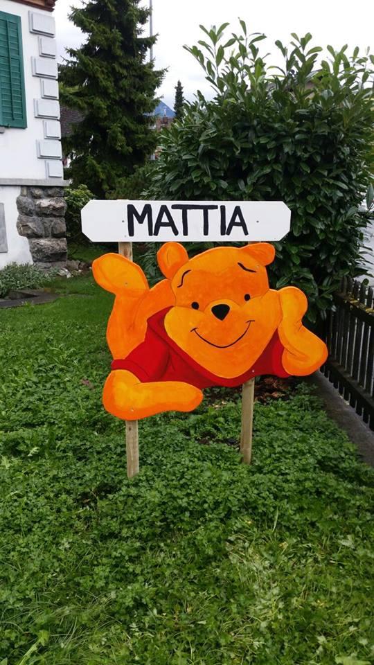 Geburtstafel für Mattia Kollros - www.ichundmeinblog.ch - von Claudia Kollros