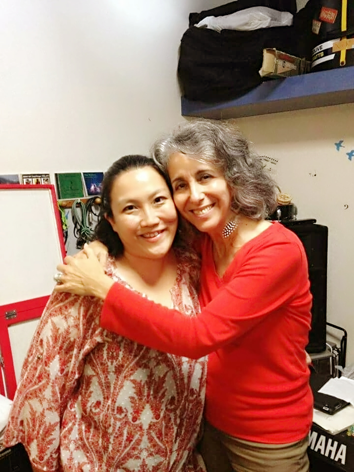 Cathy-Segal Garsia先生とプライベートレッスンにて。