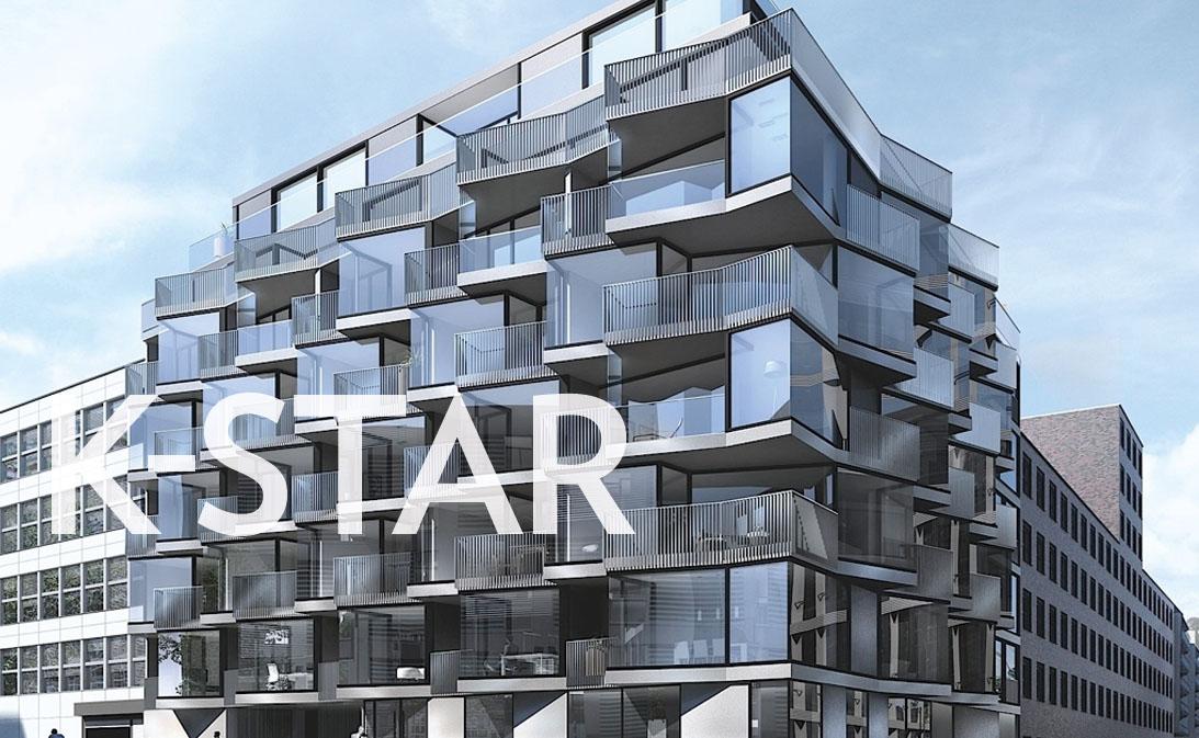 Neubauprojekt im Kölner Kunibertsviertel, Neubau von 40 Wohneinheiten