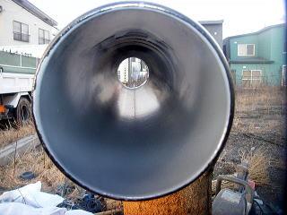 新品の水道管