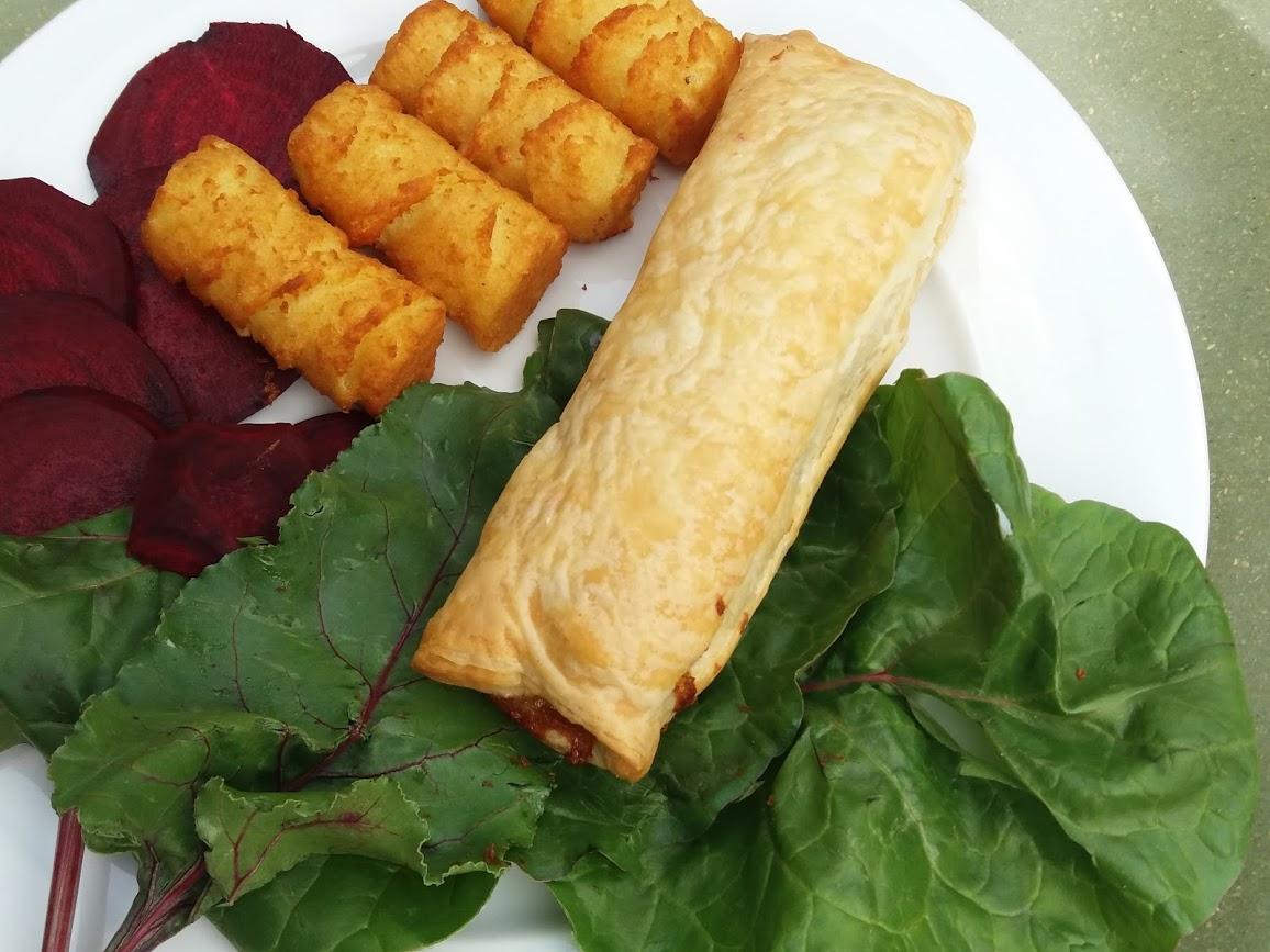 Vegan worstenbroodje van Michèle