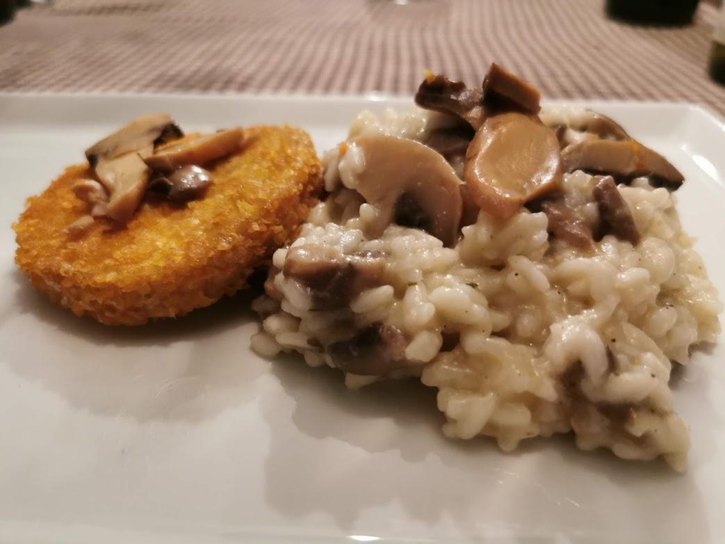 Risotto met champignons
