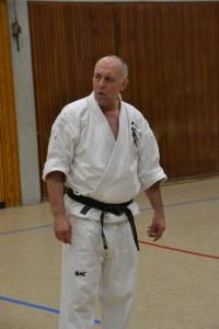 Jürgen Höller 5. Dan Dave Jonkers Kenko Kempo Karate Tao Wilhelmshaven