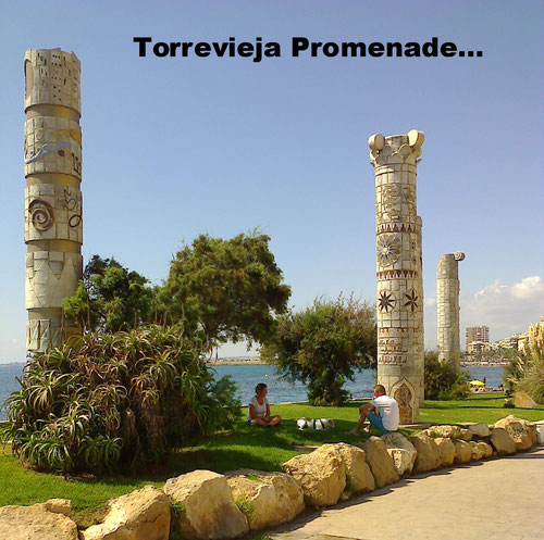 Torrevieja paseo maritimo muy bien