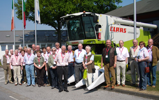 2007 Besuch der Firma Claas